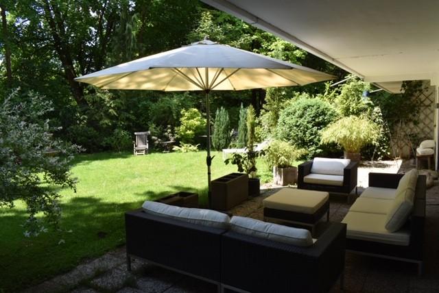 Repräsentative 3,5-Zi-EG-Whg. mit Terrasse und Garten in München/Schwabing – Einzigartige Lage mit direktem Zugang zum englischen Garten