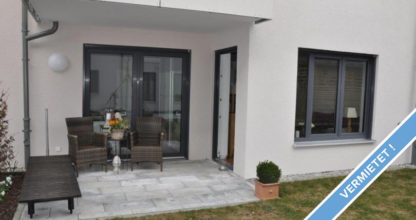 Wohnen in der Stadt! Moderne 2-Zi-EG-Whg. mit Terrasse in ...